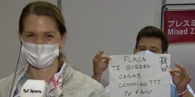 Ολυμπιακοί Αγώνες: Πρόταση γάμου στη μικτή ζώνη - Η αθλήτρια είπε το «ναι»
