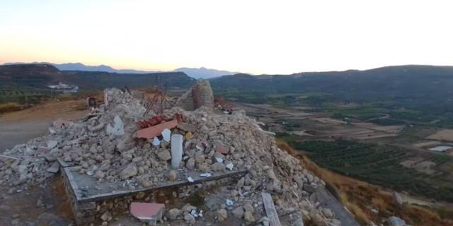 Σεισμός στη Κρήτη:  Εικόνες από drone δείχνουν το μέγεθος της καταστροφής μετά τα 5,8 Ρίχτερ