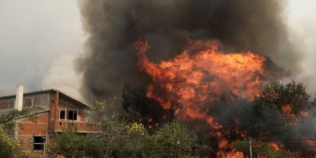 Φωτιά στην Αργολίδα – Σπεύδουν εναέρια μέσα