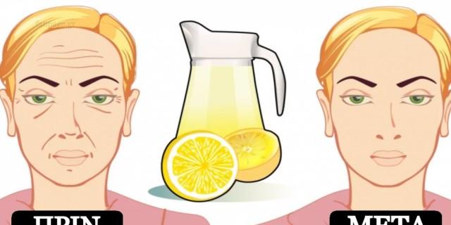 Ρυτίδες τέλος: Δοκιμάστε αυτό το σπιτικό τονωτικό με το λεμόνι και δείξτε πιο φρέσκες στο λεπτό -  Θα εξαφανιστούν!