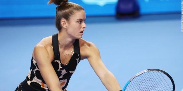 Θρίαμβος για τη Μαρία Σάκκαρη: Νίκησε 2-0 τη Χάλεπ και πέρασε στα ημιτελικά του Kremlin Cup