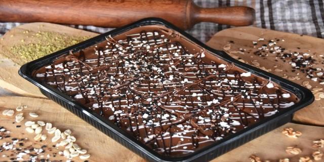 Σούπερ σοκολατένιο γλυκό εύκολο και γρήγορο - Με 3 υλικά!