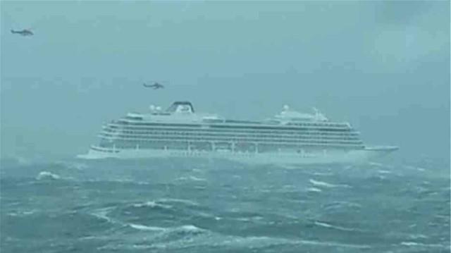 Νορβηγία:Εκκενώνεται ακυβέρνητο κρουαζιερόπλοιο με 1.300 άτομα!