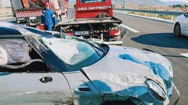 Θανατηφόρο τροχαίο στην Εθνική Οδό Καλαμάτα - Τρίπολη: Νεκρός γιατρός, εικόνες που σοκάρουν!