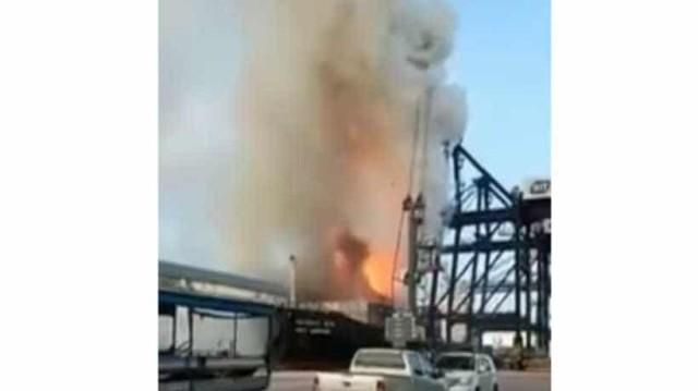 Ταϊλάνδη: Ισχυρή φωτιά σε πλοίο με 130 τραυματίες!