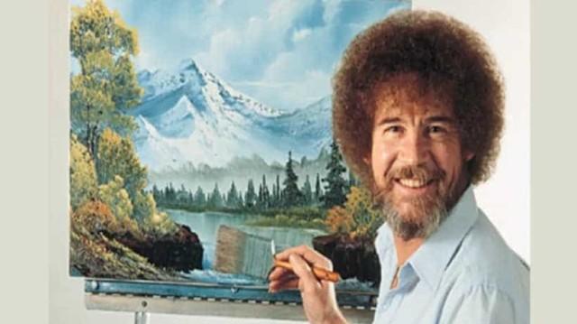 Δεν θα πιστεύετε τι δουλειά έκανε ο Bob Ross πριν γίνει ζωγράφος;
