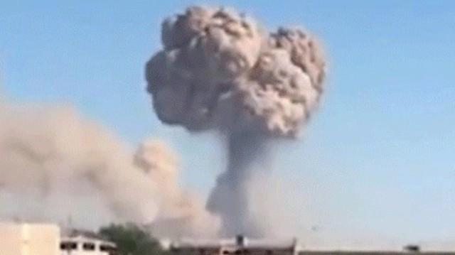 Μεγάλη έκρηξη σε αποθήκη - Ένας νεκρός και δεκάδες τραυματίες!