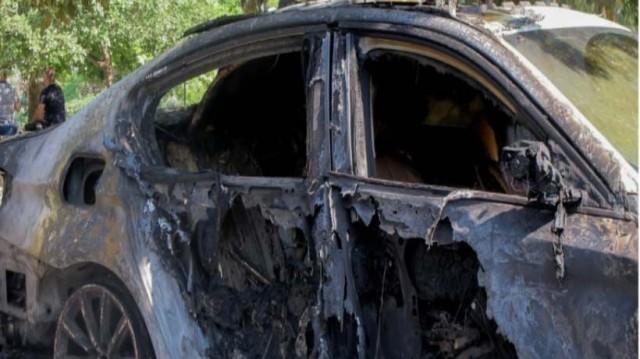 Θεσσαλονίκη: Φωτιά σε αυτοκίνητο διπλωμάτη!