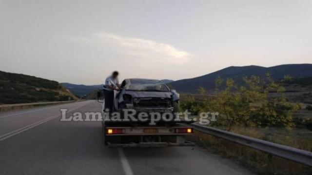 Τροχαίο στη Λαμία: Πέθανε πάνω στο τιμόνι!