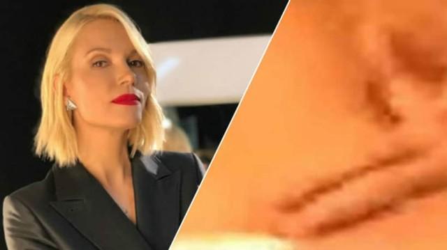 Βίκυ Καγιά: Το βίντεο με τα... χαϊδέματα που της έχει γίνει