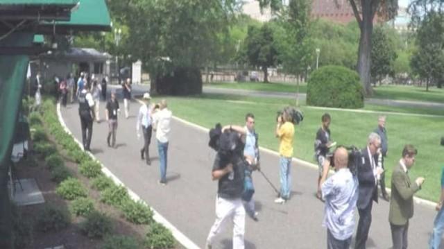 Συναγερμός στον Λευκό Οίκο: Υπάρχει ύποπτο αντικείμενο!