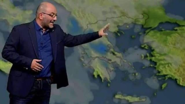 """Σάκης Αρναούτογλου: καταιγίδες που ίσως δώσουν """"πολύ νερό"""""""