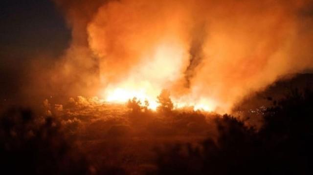 Σε ύφεση η φωτιά στον Κιθαιρώνα!