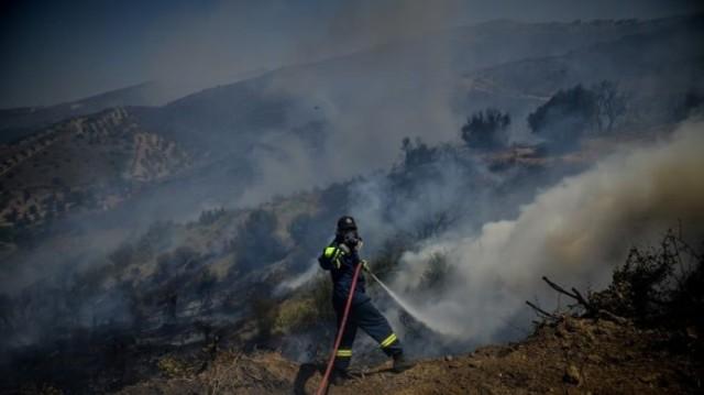 Φωτιά στη Σαλαμίνα: Εντολή εκκένωσης οικισμού!