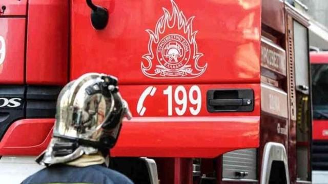 Ισχυρή φωτιά στην Ελάτη Κοζάνης!