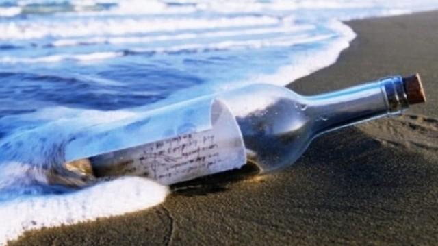 Απίστευτο: Μπουκάλι με γράμμα Ρώσου ναύτη ξεβράστηκε στην Αλάσκα μετά από 50 χρόνια!
