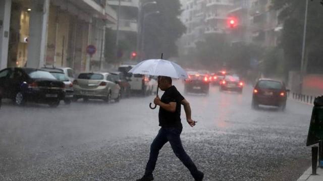 Καιρός σήμερα: Έρχονται βροχές και καταιγίδες από το βράδυ! Που θα χτυπήσουν;