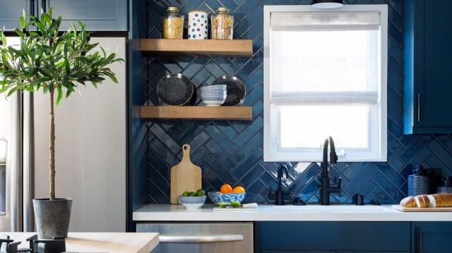 8 μπλε κουζίνες που ερωτεύεσαι με την πρώτη ματιά!(Photos)