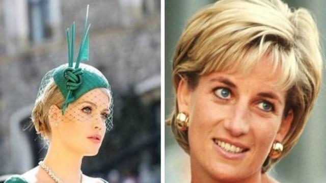 Έκλεψε την παράσταση: Η πανέμορφη ανιψιά της Νταϊάνα έδωσε το παρών στο γάμο με σμαραγδί φόρεμα
