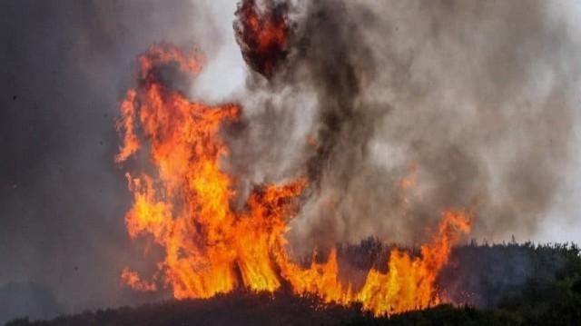 Μεγάλη φωτιά μαίνεται και στα Μέγαρα!