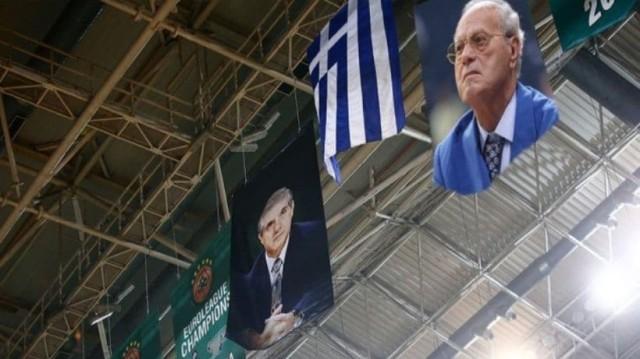 Ανατριχίλα στο ΟΑΚΑ: Το συγκλονιστικό αφιέρωμα στην μνήμη του Π.Γιαννακόπουλου (Video)