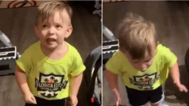 Ο 2χρονος αγανακτισμένος μπόμπιρας που έγινε viral!
