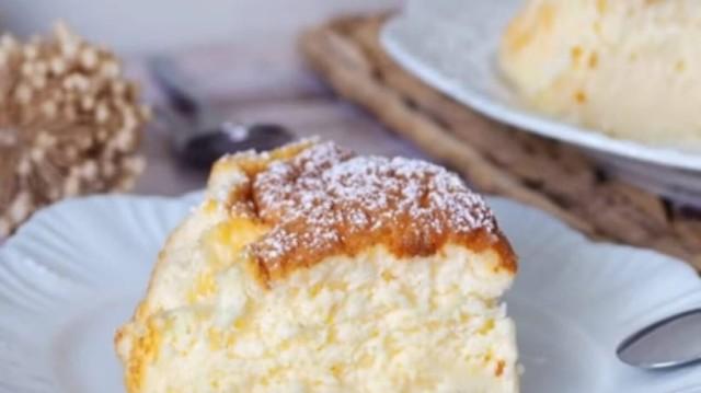 Aφράτο κέικ με γιαούρτι και άρωμα λεμονιού! (Video)