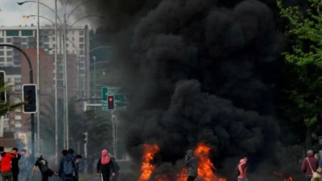 Χιλή: 15 νεκροί και 2.643 συλλήψεις μετά επεισόδια!