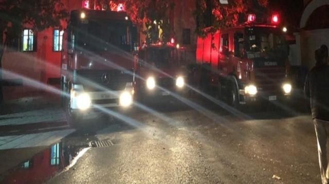 Φωτιά στο οικοτροφείο της Σχολής Τυφλών στην Θεσσαλονίκη! (Video)
