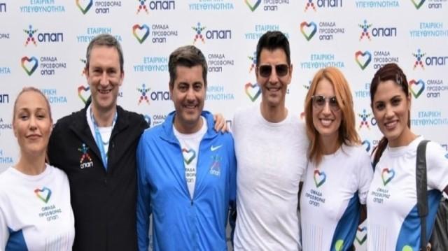 Ομάδα Προσφοράς ΟΠΑΠ: έκοψε πρώτη το νήμα στον 37ο Μαραθώνιο της Αθήνας!