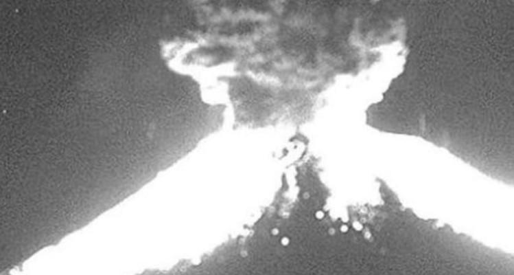 Σοκαριστικά βίντεο: Η στιγμή της έκρηξης του ηφαιστείου στο Μεξικό!