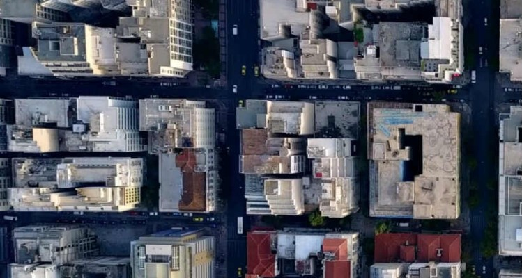 Ένα μοναδικό βίντεο από το κέντρο της Αθήνας!