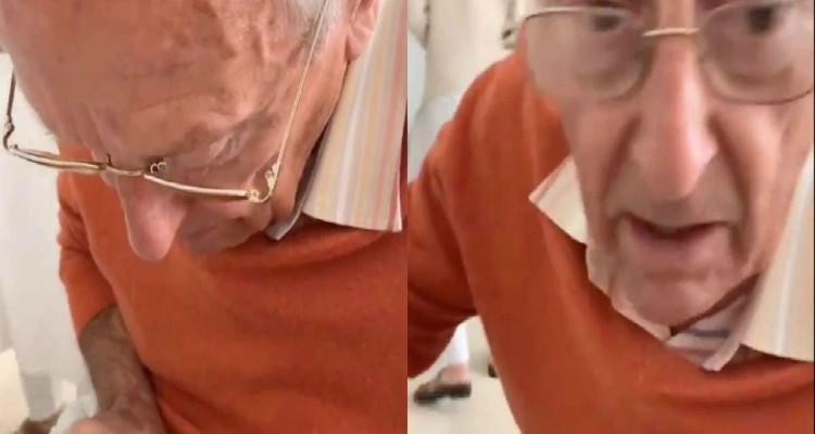 """Αυτός ο παππούς κάθεται δίπλα στη χειρουργημένη εγγονή του - Αυτό που κάνει θα σας κάνει να """"λυγίσετε"""""""