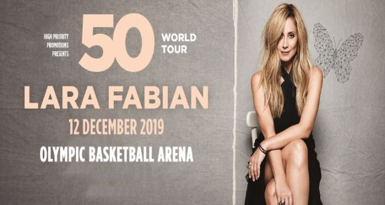 Η Lara Fabian κάνει μια στάση στην Αθήνα στα πλαίσια του 50 World Tour