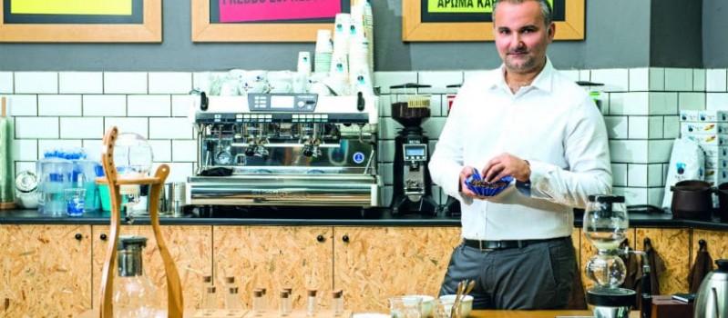 Coffee Lab: Interview with Stelios Roumeliotis!