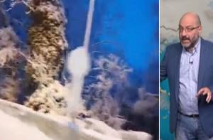"""Σφοδρή χιονόπτωση στη Θεσσαλονική: Το """"λευκό"""" ξύπνημα του Σάκη Αρναούτογλου (video)"""