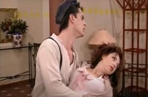 """""""Σκοτώθηκα!"""": Η τούμπα της Ελένης Ράντου στα γυρίσματα του Κωνσταντίνου και Ελένης"""