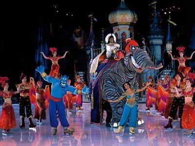 Aladdin on Ice στο Tae Kwon Do