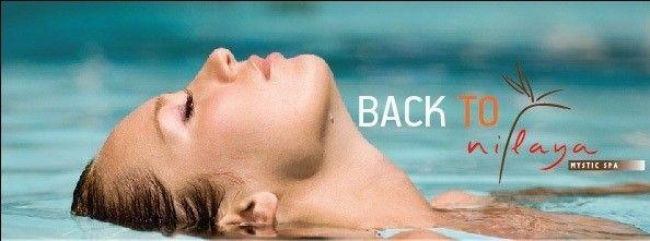 Θεραπείες ενυδάτωσης του NILAYA Mystic Spa  μόνο με €65,00!