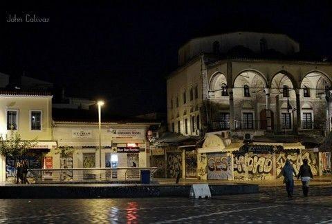 Athens all night PhotographY: Πως μοιάζει η Αθήνα όταν εσύ κοιμάσαι;;; (PHOTOS)