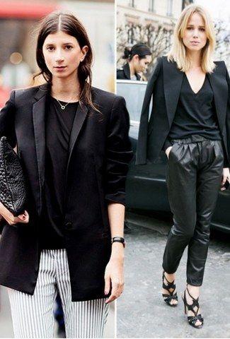 Μαύρο Σακάκι  Πώς μπορείς να το φορέσεις    (PHOTOS) - Μόδα - Athens ... 5273cfc6bf9