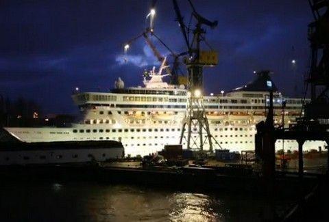ΔΕΙΤΕ: το απίστευτο Timelapse video της μεταμόρφωσης του κρουαζιερόπλοιου Norwegian Crown!!!!