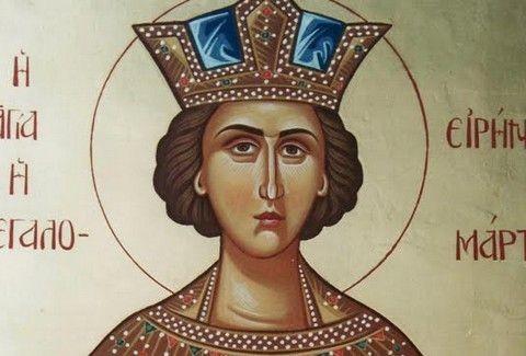 Αγία Ειρήνη η Μεγαλομάρτυς: Ποιος ο βίος της... Πηνελόπης που τιμά σήμερα η Ορθόδοξη Εκκλησία; Θεωρείται προστάτις της Ελληνικής Αστυνομίας