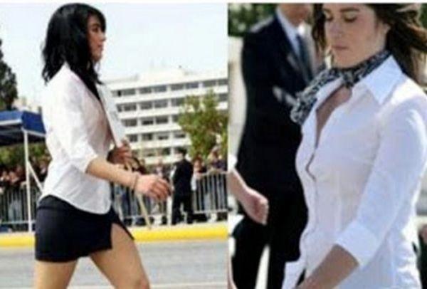 8b775b0853f Το απρόοπτο της παρέλασης: Το απίστευτο... ατύχημα μαθήτριας που γίνεται  viral στο