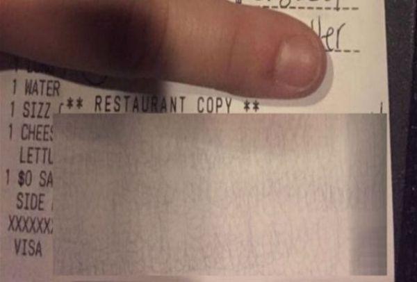 Απίστευτο  Αυτό είναι το γράμμα της σερβιτόρας στο facebook που έγινε viral!  Τι είδε e097e851f72