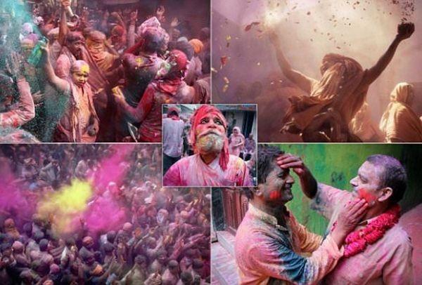 Οι μέρες των χρωμάτων! Απίστευτη γιορτή στην Ινδία! (PHOTOS)