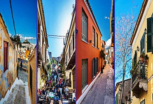 Πλάκα και Αναφιώτικα: Η ομορφότερη βόλτα της Αθήνας μέσα από τον φακό της Ελεάννας Κουρκουλοπούλου (PHOTOS)