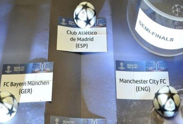 Champions League: Αυτά είναι τα ζευγάρια των ημιτελικών!