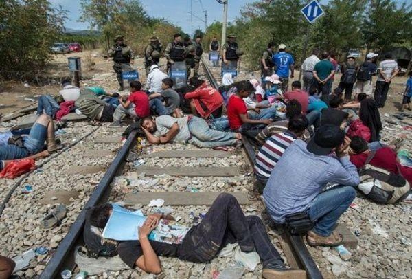 Αποτέλεσμα εικόνας για πρόσφυγες ειδομένη