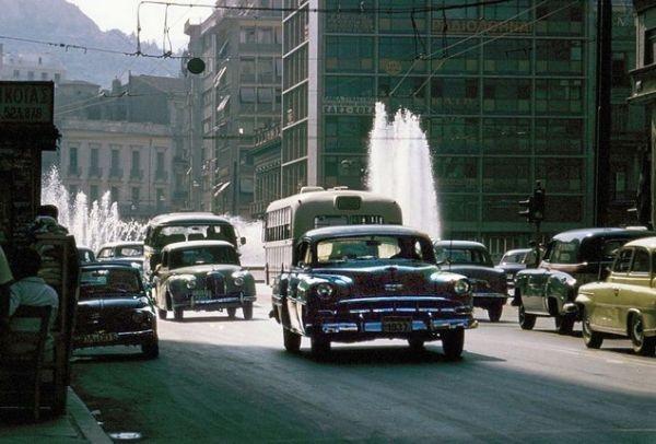Αποτέλεσμα εικόνας για η αθηνα του 1961 σε ενα εκπληκτικο φιλμ